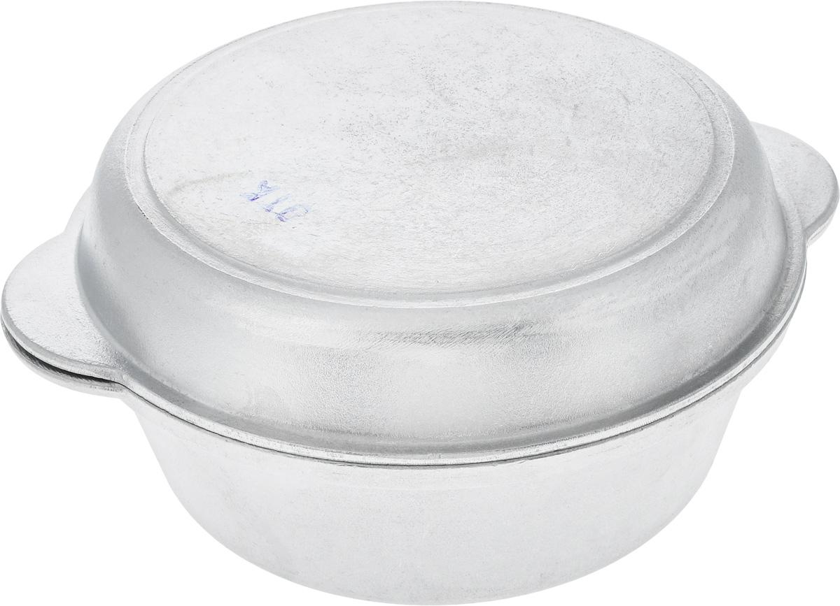 Кастрюля Алита Латка с крышкой, 2,5 л14800Кастрюля Алита Латка изготовлена из литого алюминия. Благодаря толстым стенкам и утолщенному дну тепло равномерно распределяется по всей поверхности и долго сохраняется. Изделие оснащено крышкой с литыми ручками, которую можно использовать отдельно, как сковороду. Можно использовать на газовых и электрических плитах. Диаметр кастрюли (по верхнему краю): 22,5 см.Высота стенки кастрюли: 8,5 см.Ширина кастрюли (с учетом ручек): 29 см. Высота крышки: 4,5 см. Ширина крышки (с учетом ручек): 28,5.
