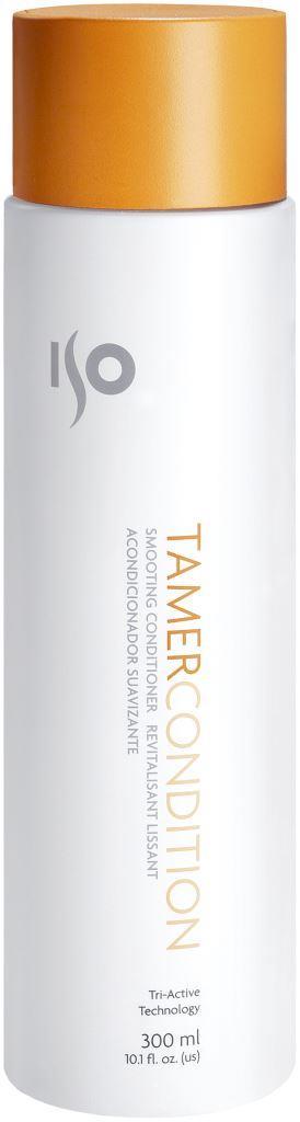 ISO Tamer Condition - Кондиционер для выпрямления, 300 мл99167Легковесный, эластичный, кремовая текстура, прекрасно распределяется, обволакивая каждый волосок, способствуя процессу сглаживания и выпрямления. Обладает приятным запахом. Поставляет и сохраняет влагу. ISOамин и гуаровая смола сглаживают, придают блеск, выпрямляют волосы, придают им вес, делают подвижными, устраняют пушение. Масло семян подсолнечника – натуральный смягчитель, антиоксидант и увлажнитель. Ланолин – сглаживает кутикулу, смягчает, питает волосы. Идеальный баланс: сглаживание – объем. Результат: Гладкие, блестящие, струящиеся, скользкие волосы, в меру увлажненные, послушные волосы, подготовленные к процессу укладки. Секреты применения: Второй шаг к прямым, гладким прямым волосам! Можно использовать как крем для рук. Если использовать на вьющихся волосах и не оттягивать, то получатся более крупные, натуральные завитки. При воздействии дополнительного тепла проникает глубже в структуру волоса.