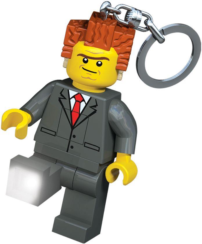 LEGO Movie Брелок-фонарик President Business игровая приставка xbox one 500 гб the lego movie videogame