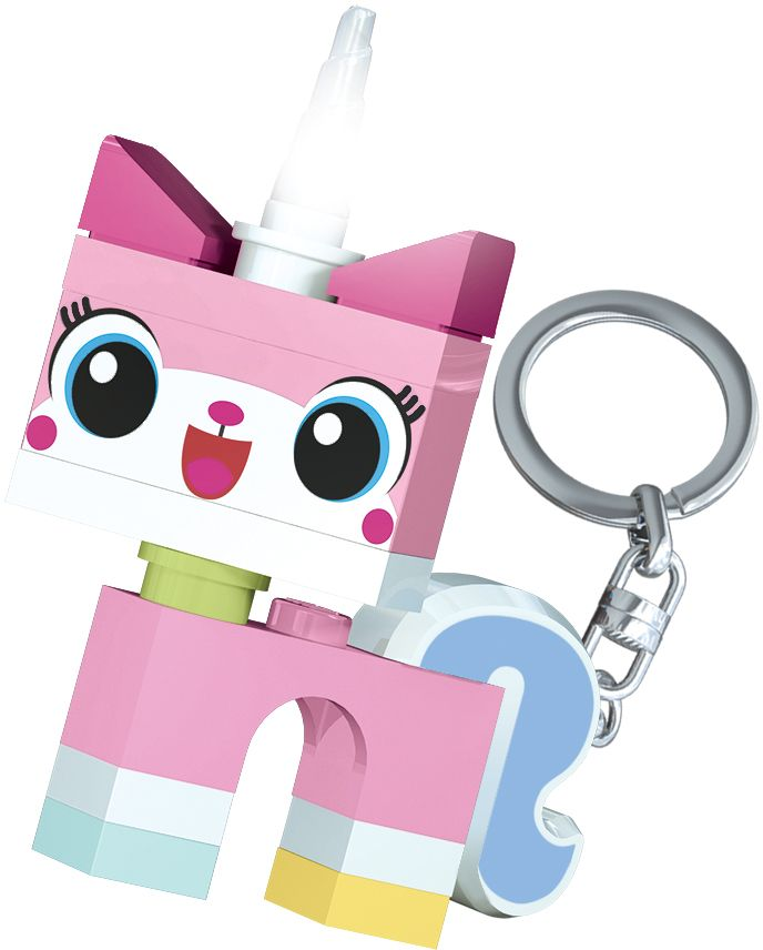 LEGO Movie Брелок-фонарик Unikitty lego lego брелок для ключей джестро