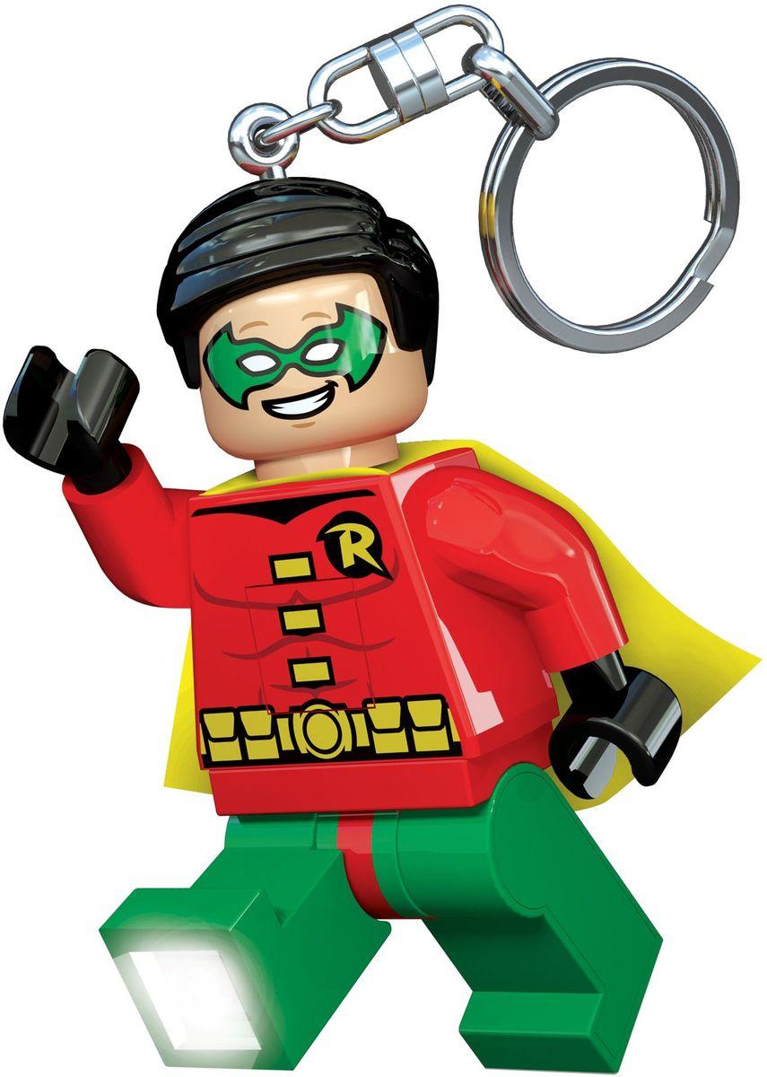 LEGO Super Heroes Брелок-фонарик Robin кинг с ветер сквозь замочную скважину