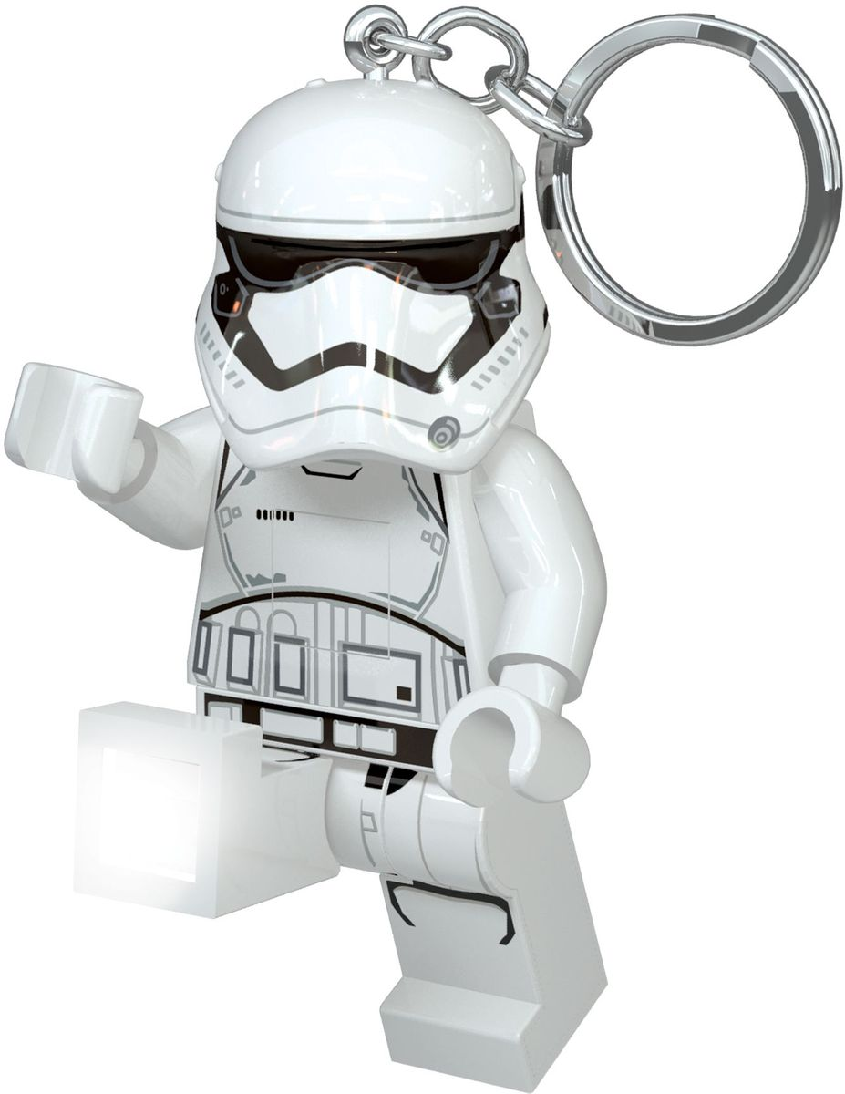 LEGO Star Wars Брелок-фонарик Штурмовик Первый орден lego star wars брелок фонарик капитан фазма