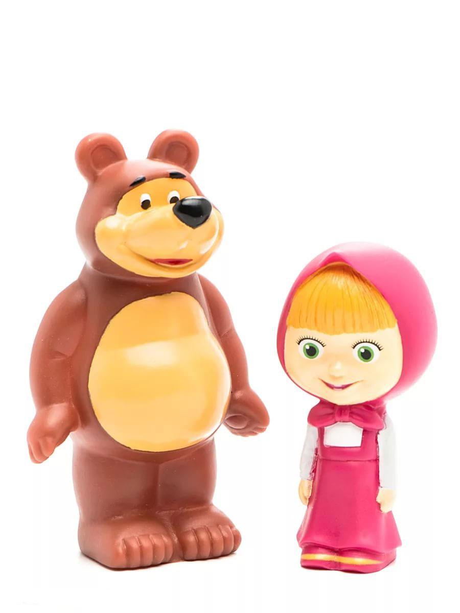 Играем вместе Набор игрушек для ванной Маша и Медведь играем вместе набор игрушек для ванной корабль и самолет