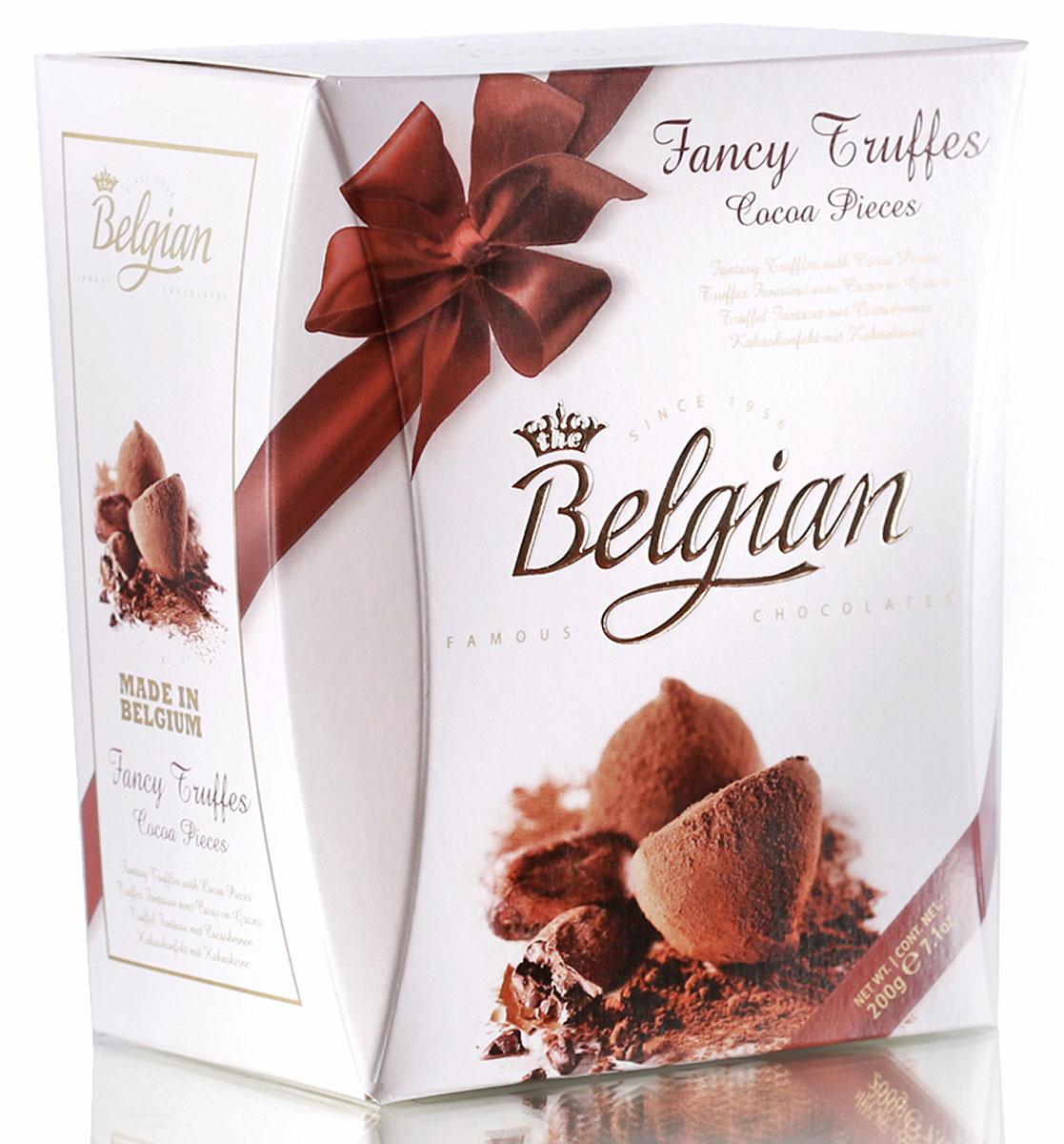 The Belgian Трюфели со вкусом какао, 200 г chocmod конфеты chocmod трюфели париж 500г