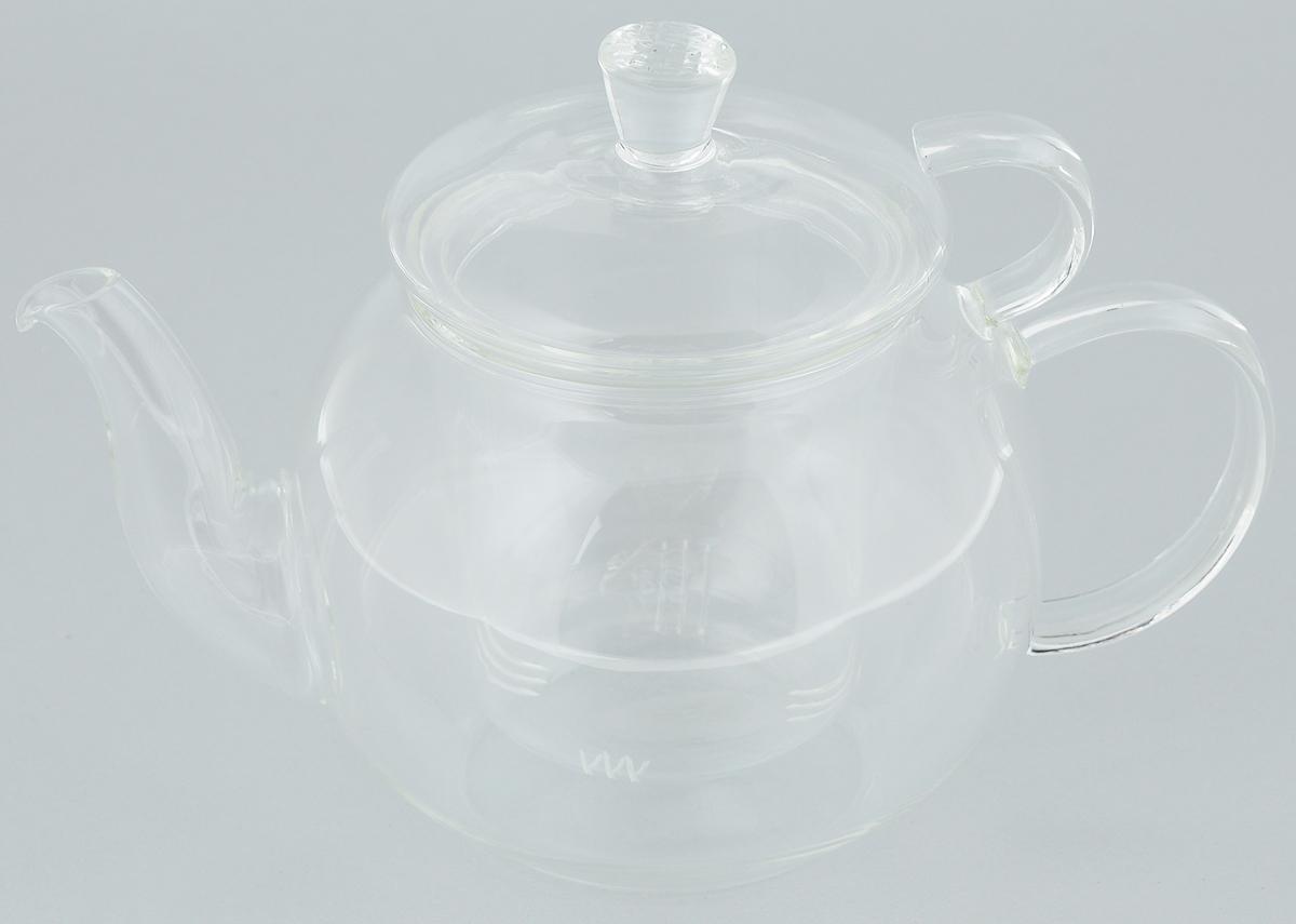 Чайник заварочный Mayer & Boch, с фильтром, 600 мл. 2493724937Заварочный чайник Mayer & Boch полностью выполнен из боросиликатного стекла - прочного износостойкого материала. Чайник оснащен съемным фильтром и крышкой. Фильтр задерживает чаинки и предотвращает их попадание в чашку. Благодаря прозрачности стенок можно наблюдать степень заварки напитка. Чай в таком чайнике дольше остается горячим, а полезные и ароматические вещества полностью сохраняются в напитке. Чайник может быть использован для подачи как горячих, так и холодных напитков.Простой и удобный чайник поможет вам приготовить крепкий ароматный чай. Изящный стиль чайника прекрасно дополнит сервировку стола к чаепитию. Диаметр чайника (по верхнему краю): 7,5 см. Высота чайника (без учета ручки и крышки): 9,5 см. Высота фильтра: 8 см.