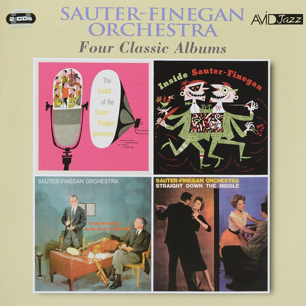 Sauter-Finegan Orchestra,Eddie Sauter,Bill Finegan Avid Jazz. Sauter-Finegan Orchestra. Four Classic Albums (2 CD) avid digidesign machine control win
