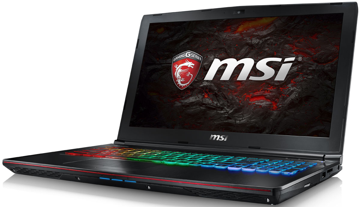 MSI GE62 7RE-033RU Apache Pro, Black ноутбук msi gs43vr 7re 094ru phantom pro 9s7 14a332 094
