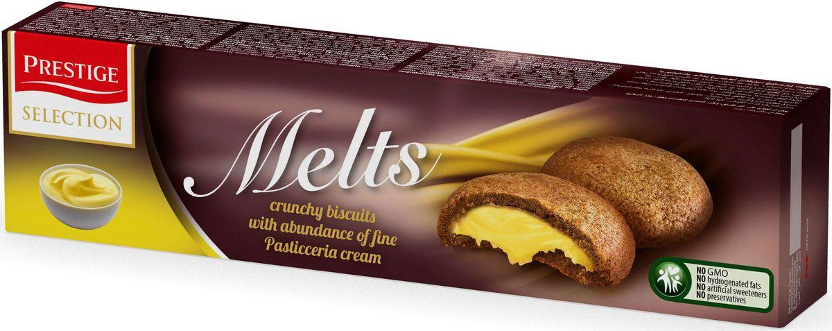 Prestige Печенье с какао и кремом пастичера, 134 г десерт молочный hipp манный яблоко персик с 5 мес 190 гр