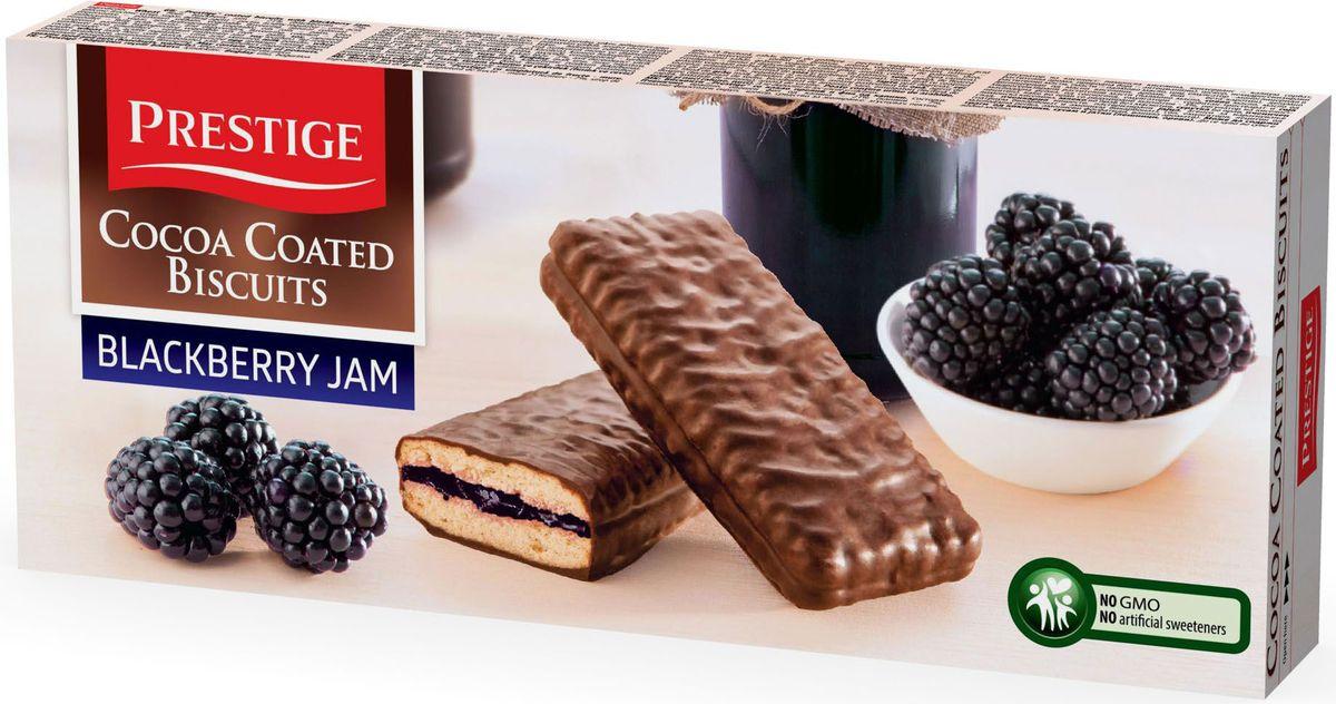 где купить  Prestige Печенье ежевичное в какао глазури, 216 г  по лучшей цене