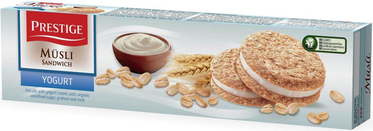Prestige Печенье мюсли с йогуртовым кремом, 92 г сладкая сказка печенье дед мороз и снегурочка 400 г