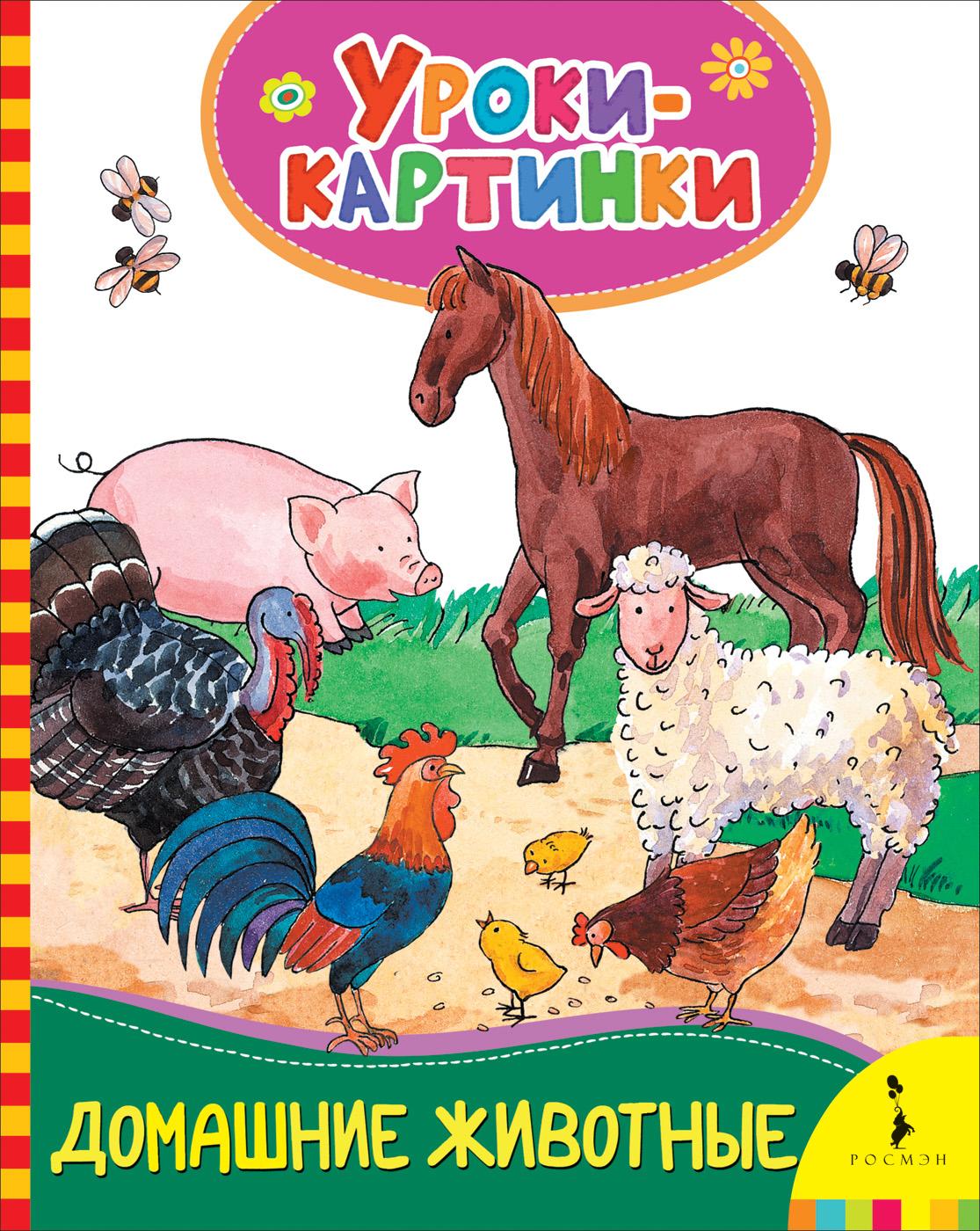 Е. К. Мазанова Домашние животные. Уроки-картинки картрайт п кирпичная кладка уроки мастера