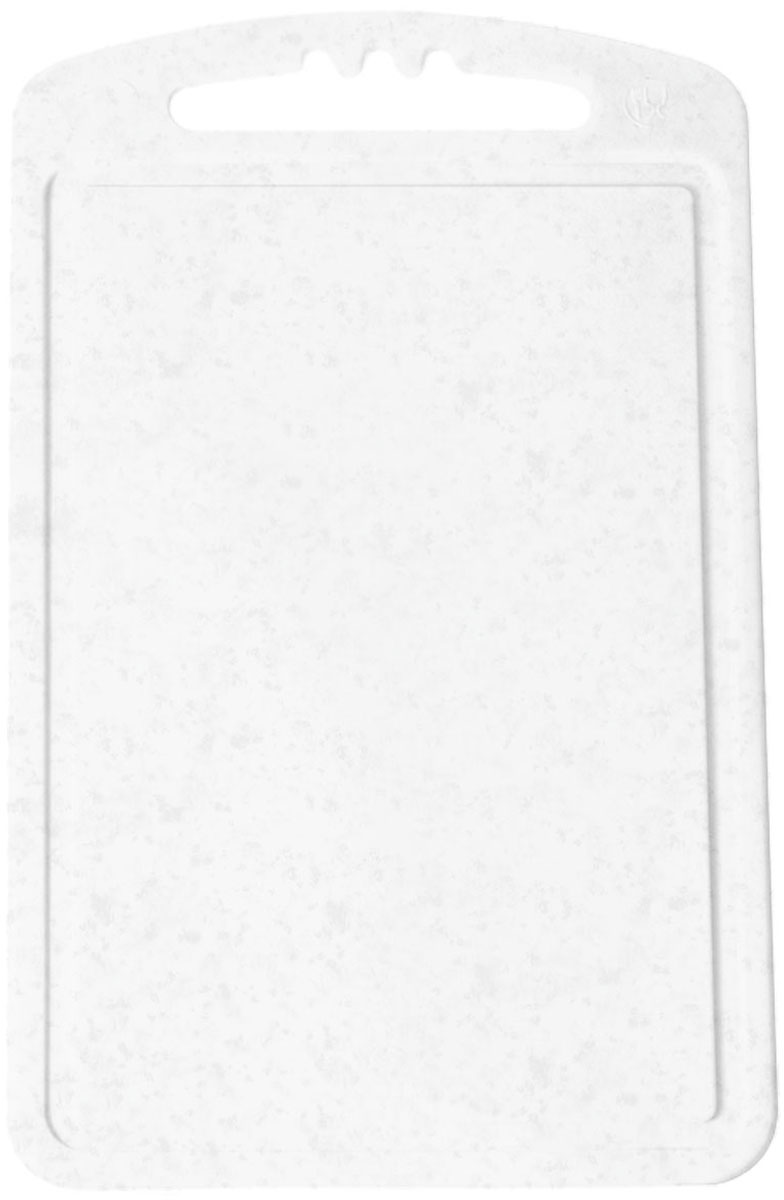 Доска разделочная Plastic Centre, цвет: мраморный, 24 х 15 смПЦ1490МРМалая разделочная доска Plastic Centre может применяться для различных видов продуктов. Она выполнена из полипропилена. Доска снабжена желобком для стока жидкости для удобства применения. Она не впитывает запахи, устойчива к воздействию ножом, благодаря чему изделие более долговечно. На кухне рекомендовано иметь несколько досок для различных видов продуктов: мяса, рыбы, хлеба и овощей.