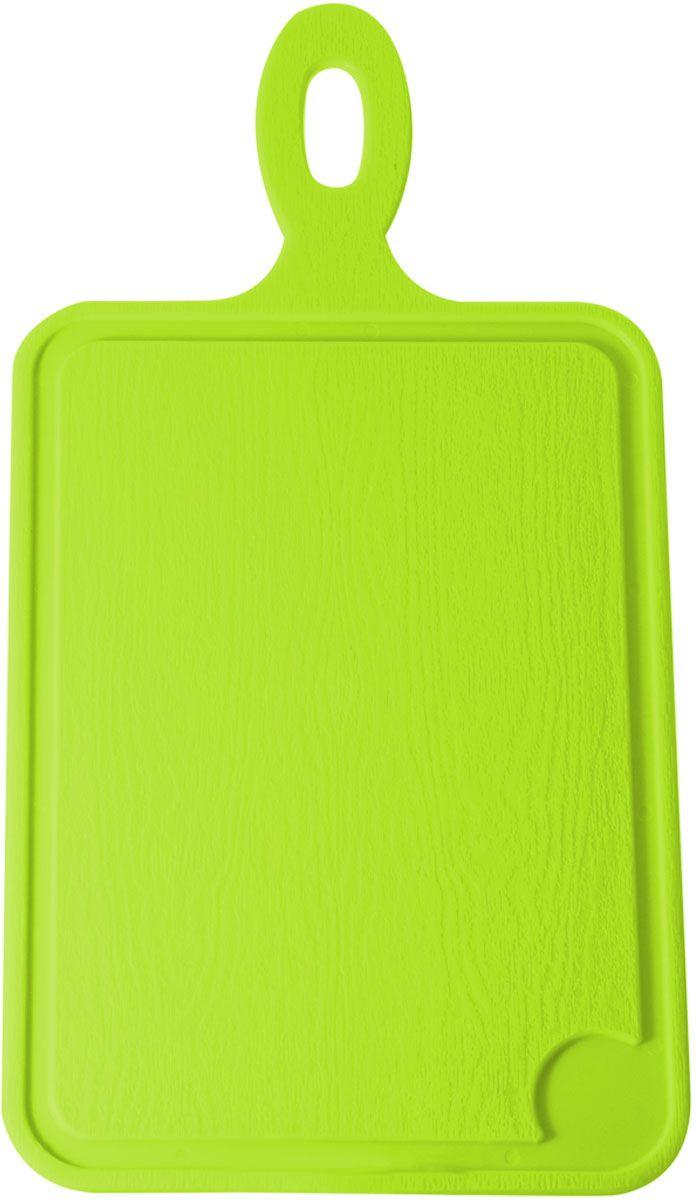Доска разделочная Plastic Centre, цвет: светло-зеленый, 35 х 19 смПЦ1491ЛМРазделочная доска может применяться для различных видов продуктов. Доска снабжена желобком для стока жидкости для удобства применения. Доска не впитывает запахи, устойчива к воздействию ножом, благодаря чему изделие более долговечно. На кухне рекомендовано иметь несколько досок для различных видов продуктов: мяса, рыбы, хлеба и овощей.