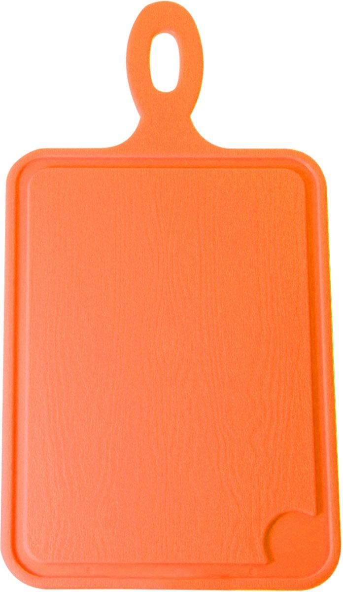 Доска разделочная Plastic Centre, цвет: оранжевый, 35 х 19 смПЦ1491МНДРазделочная доска может применяться для различных видов продуктов. Доска Plastic Centre снабжена желобком для стока жидкости для удобства применения. Доска не впитывает запахи, устойчива к воздействию ножом, благодаря чему изделие более долговечно. На кухне рекомендовано иметь несколько досок для различных видов продуктов: мяса, рыбы, хлеба и овощей.