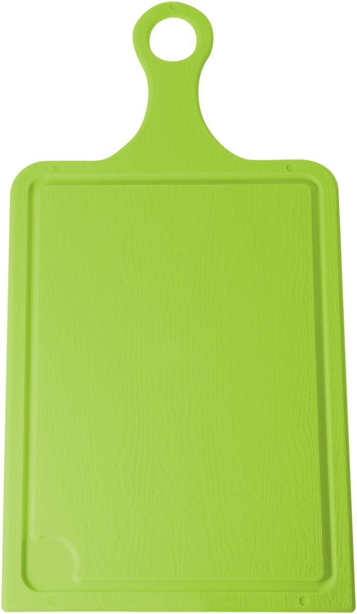 Доска разделочная Plastic Centre, цвет: светло-зеленый, 35 х 19 см. ПЦ1493ЛМПЦ1493ЛМРазделочная доска может применяться для различных видов продуктов. Доска снабжена желобком для стока жидкости для удобства применения.Доска не впитывает запахи, устойчива к воздействию ножом, благодаря чему изделие более долговечно.На кухне рекомендовано иметь несколько досок для различных видов продуктов: мяса, рыбы, хлеба и овощей.