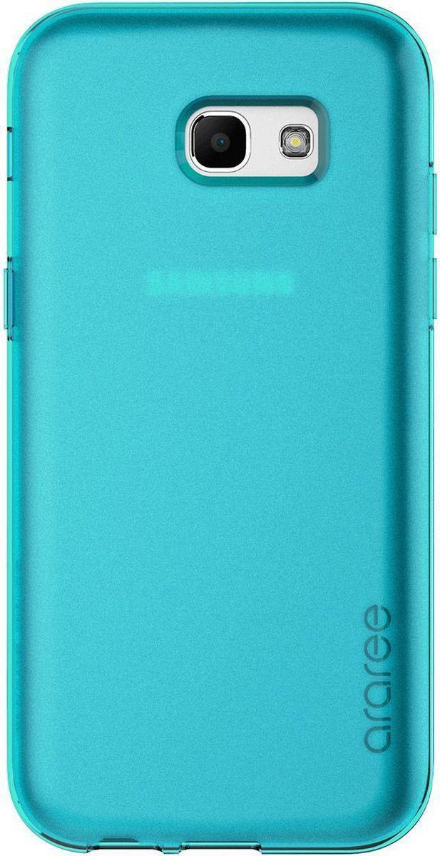 Araree Airfit чехол для Samsung Galaxy A5 (2017), TurquoiseAR20-00205CЧехол-накладка Araree Airfit для Samsung Galaxy A5 (2017) обеспечивает надежную защиту корпуса смартфона от механических повреждений и надолго сохраняет его привлекательный внешний вид. Накладка выполнена из высококачественного материала и плотно прилегает. Чехол также обеспечивает свободный доступ ко всем разъемам и клавишам устройства.