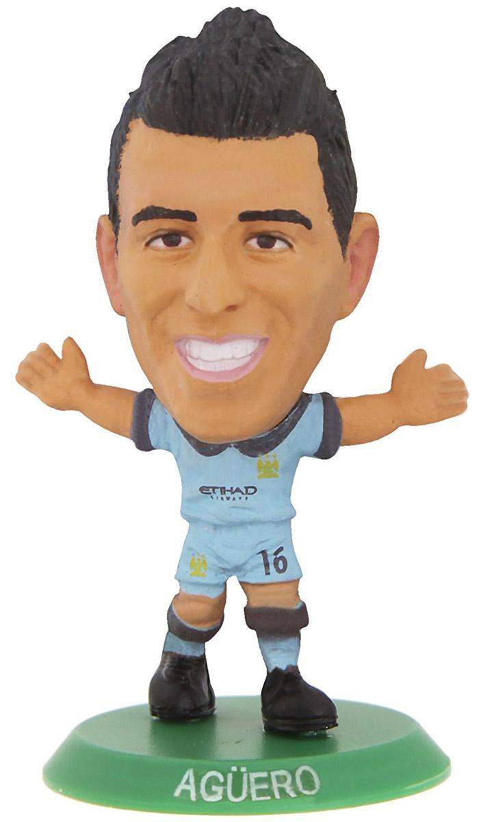 Soccerstarz Фигурка футболиста FC Manchester City Aguero агуэро с серхио кун агуэро рожденный побеждать