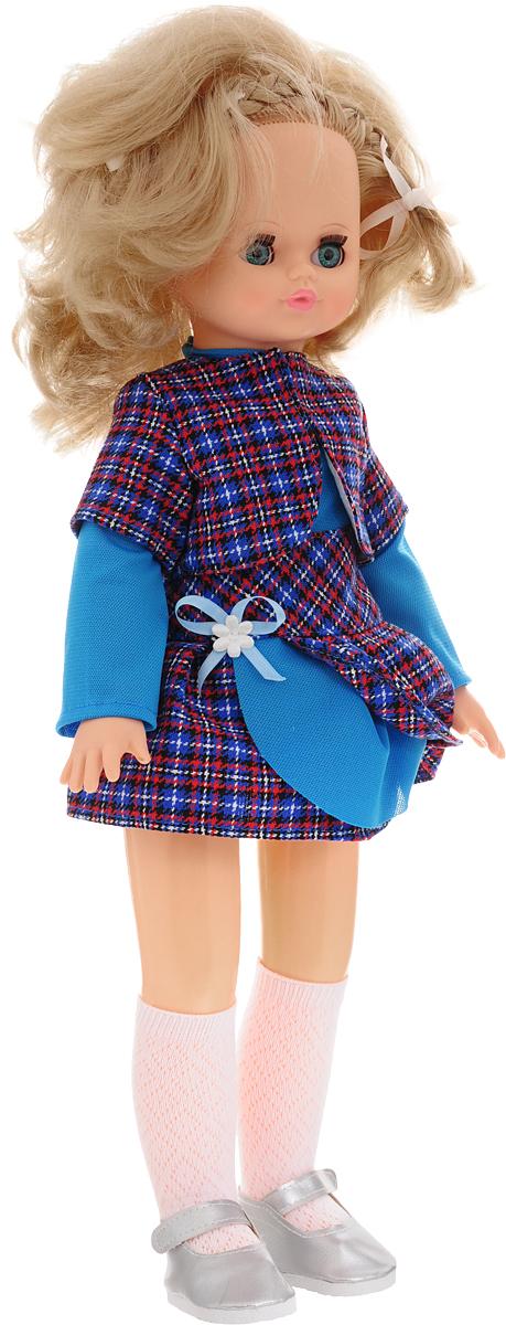 Весна Кукла озвученная Эльвира цвет одежды голубой синий красный