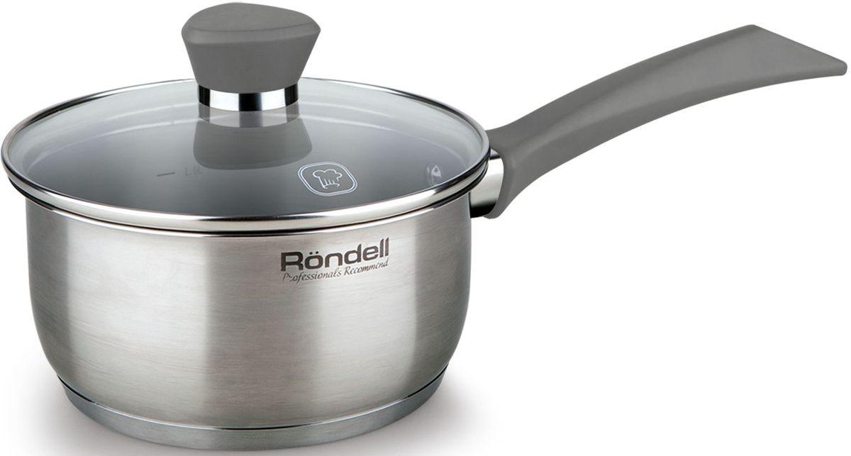Ковш Rondell  Strike  с крышкой, 1,3 л - Посуда для приготовления