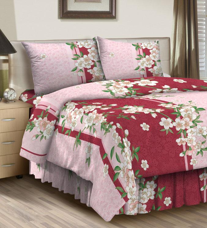 Комплект белья ROKO, 1,5-спальный, наволочки 70х70, цвет: красный, светло-розовый115872Комплект белья ROKO состоит из простыни, пододеяльника и двух наволочек.Для производства постельного белья ROKO используются экологичные ткани высочайшего качества. Бязь - хлопчатобумажная плотная ткань полотняного переплетения. Отличается прочностью и стойкостью к многочисленным стиркам. Бязь считается одной из наиболее подходящих тканей для производства постельного белья и пользуется в России большим спросом.