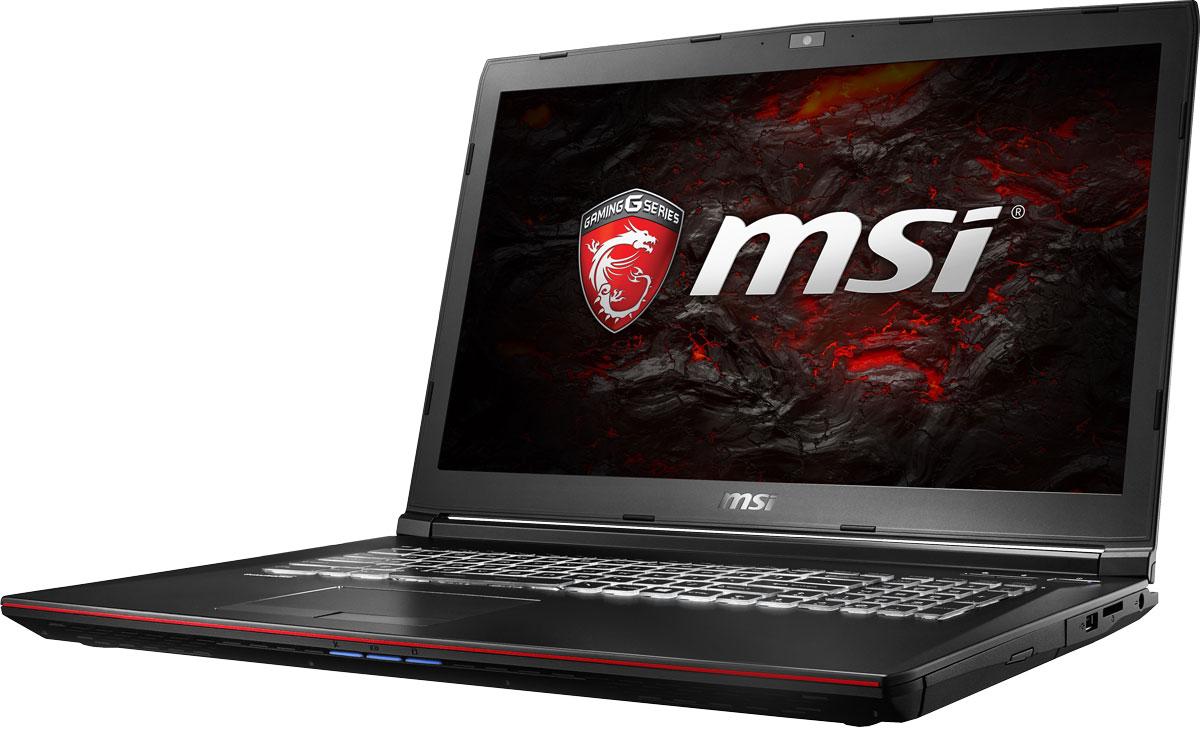 MSI GP72 7RE-423RU Leopard Pro, BlackGP72 7RE-423RUMSI GP72 7RE Leopard Pro - это мощный ноутбук, который адаптирован для современных игровых приложений. Стильный шлифованный алюминиевый корпус прекрасно подчёркивает эстетику и мощь этой игровой машины.MSI стала первой, кто применил новейшее поколение видеокарт NVIDIA Pascal в игровых ноутбуках. 3D-производительность GeForce GTX 1050 Ti по сравнению с GeForce GTX 965M увеличилась более чем на 15%. Инновационная система охлаждения Cooler Boost 4 и особые геймерские технологии раскрыли весь потенциал новейшей NVIDIA GeForce GTX 1050 Ti. Совершенно плавный геймплей на ноутбуке MSI GP72 7RE разбивает стереотипы об исключительной производительности десктопов, заставляя взглянуть на мобильный гейминг по-новому.Седьмое поколение процессоров Intel Core серии H обрело более энергоэффективную архитектуру, продвинутые технологии обработки данных и оптимизированную схемотехнику. Производительность Core i7-7700HQ по сравнению с i7-6700HQ выросла в среднем на 8%, мультимедийная производительность - на 10%, а скорость декодирования/кодирования 4K-видео - на 15%. Аппаратное ускорение 10-битных кодеков VP9 и HEVC стало менее энергозатратным, благодаря чему эффективность воспроизведения видео 4K HDR значительно возросла.Вы сможете достичь максимально возможной производительности вашего ноутбука благодаря поддержке оперативной памяти DDR4-2400, отличающейся скоростью чтения более 32 Гбайт/с и скоростью записи 36 Гбайт/с. Возросшая на 40% производительность стандарта DDR4-2400 (по сравнению с предыдущим поколением, DDR3-1600) поднимет ваши впечатления от современных и будущих игровых шедевров на совершенно новый уровень.Эксклюзивная технология MSI SHIFT выводит систему на экстремальные режимы работы, одновременно снижая шум и температуру до минимально возможного уровня. Переключаясь между пятью профилями, вы сможете достичь экстремальной производительности своей машины или увеличить время её работы от батарей. Функция легко активируетс