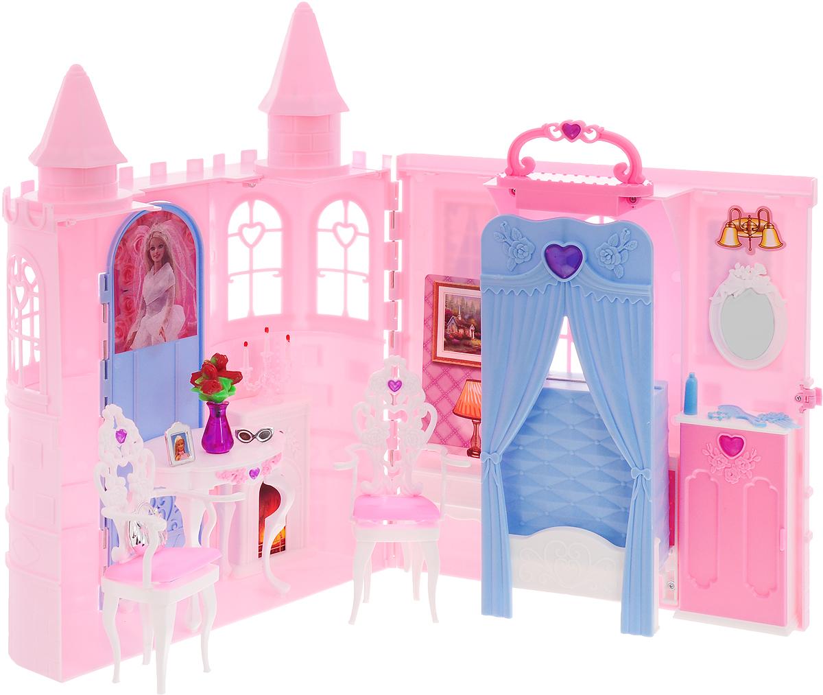 Well Success Toys Мебель для кукол Дворец принцессы новогоднее подвесное украшение лиса и заяц