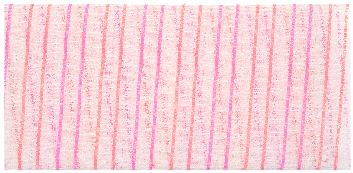 La Miso Мочалка массажная жесткая, цвет: розовые полосы. HAD-058809406337_розовые полосыМассажная мочалка эффективно очищает кожу от различных загрязнений, стимулирует кровообращение и улучшает тонус кожи, повышает её эластичность и упругость. Моментально образует большое количество пены, экономя время при процедуре принятия душа.