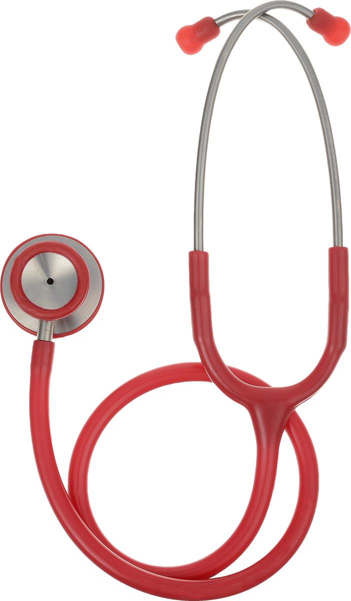 Медицинский стетоскоп, цвет: красный. 04-АМ420 9tong красный цвет