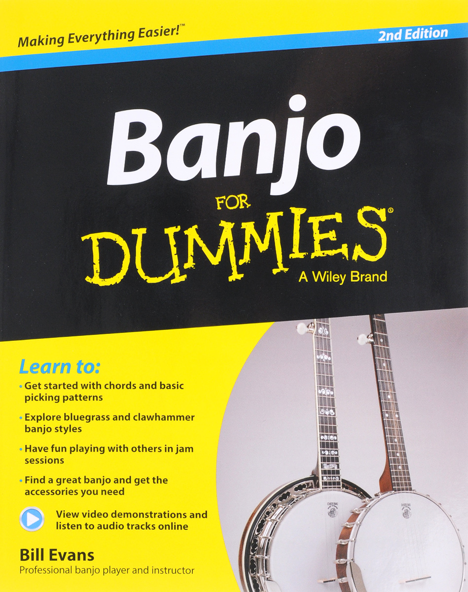 Banjo For Dummies frank ryan willpower for dummies