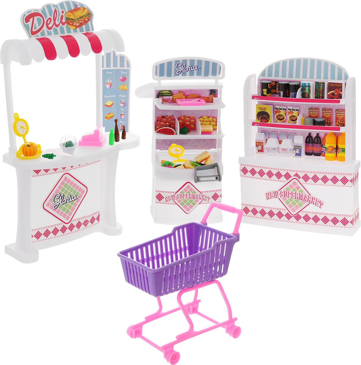 Gloria Мебель для кукол Супермаркет
