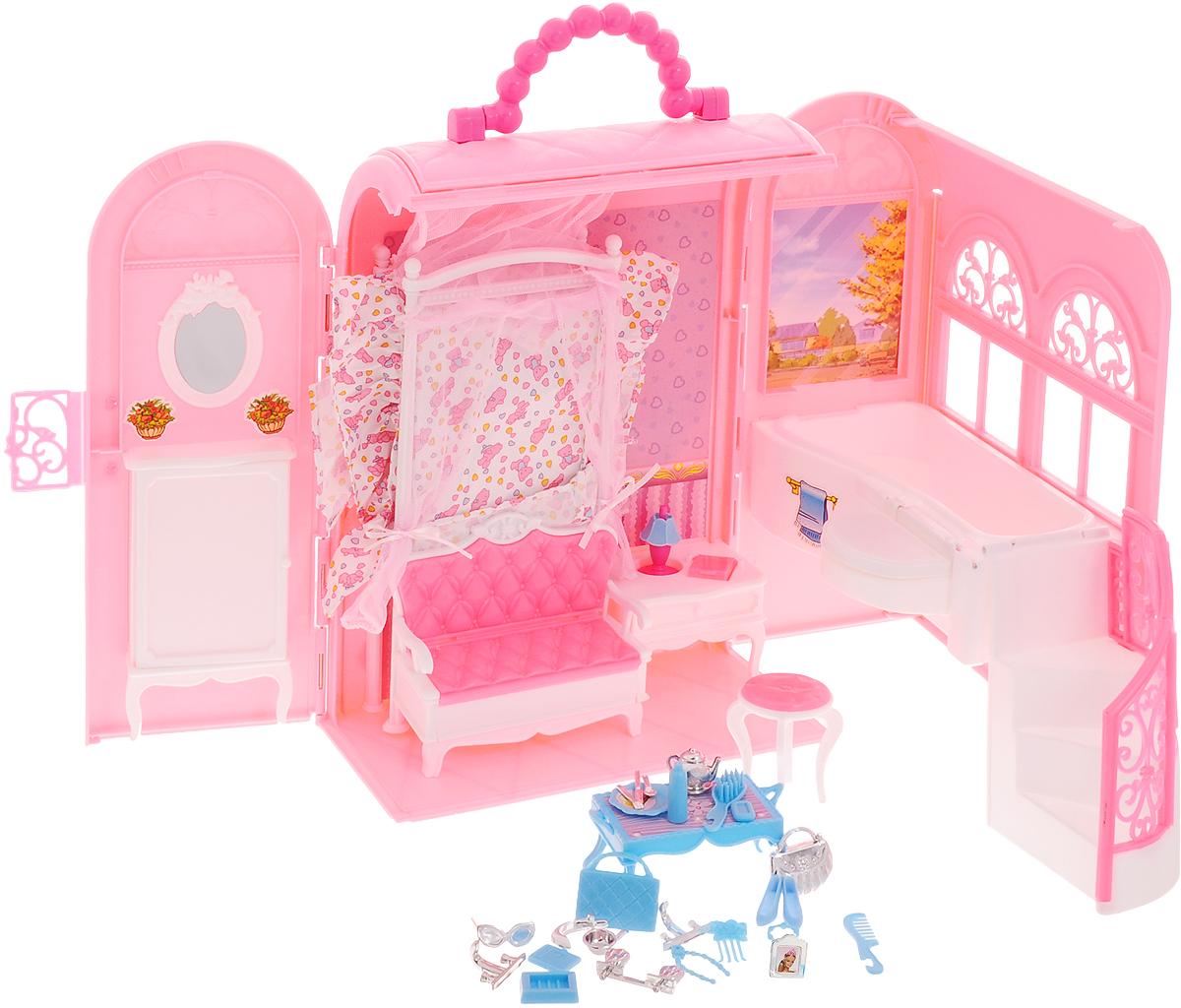 Well Success Toys Мебель для кукол Будуар домик шкаф для детской