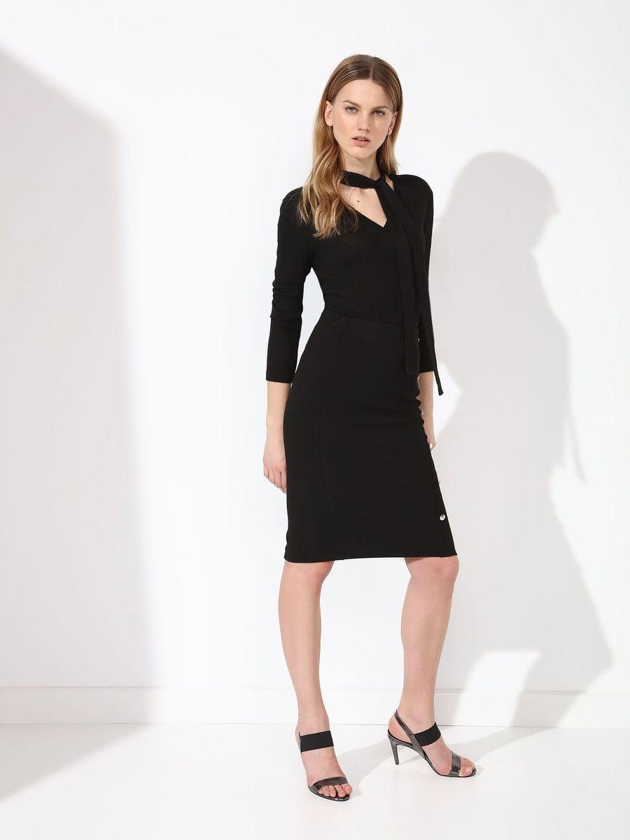 Юбка женская Top Secret, цвет: черный. SSD1098CA. Размер 40 (48) блузка женская top secret цвет светло розовый sbd0685jr размер 40 48