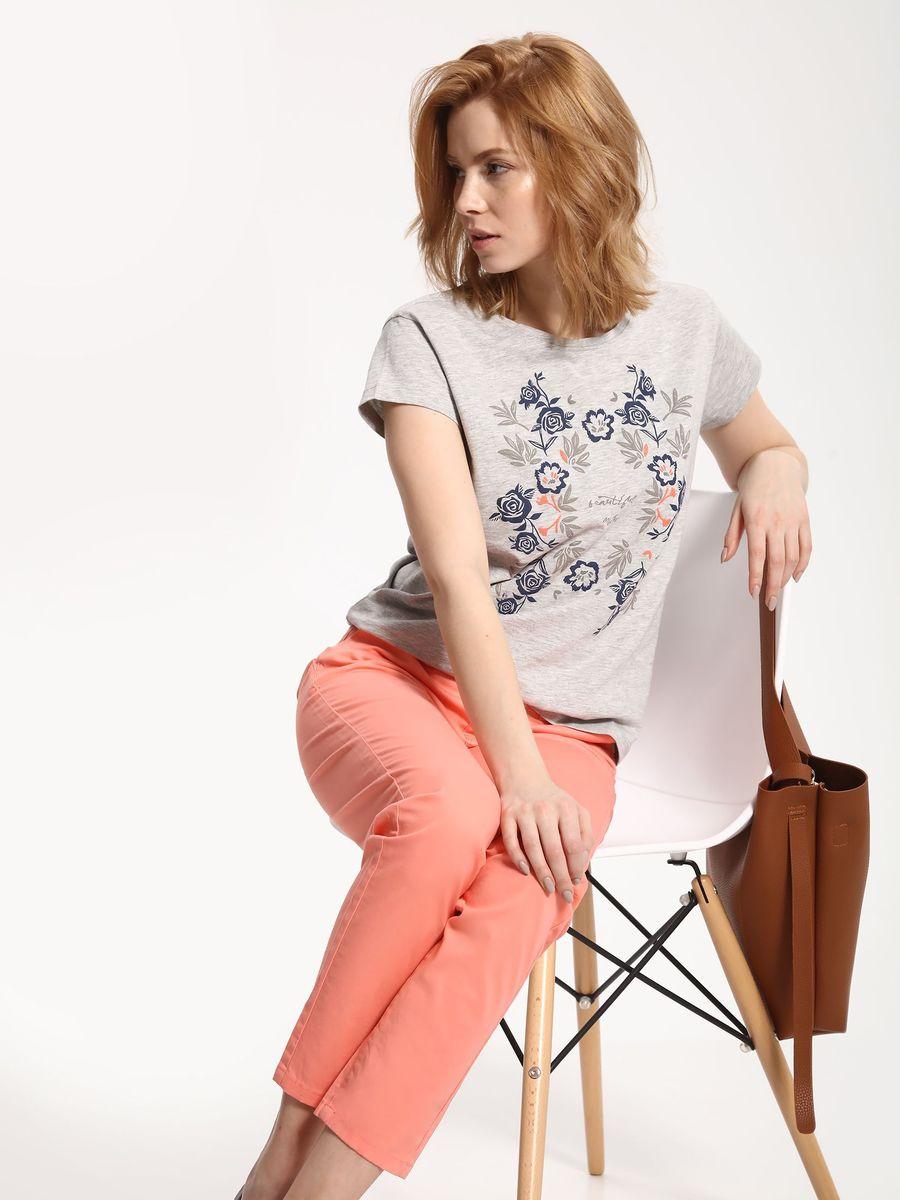 Брюки женские Top Secret, цвет: оранжевый. SSP2416PO. Размер 38 (46)SSP2416POСтильные женские брюки Top Secret - брюки высочайшего качества на каждый день, которые прекрасно сидят. Модель изготовлена из высококачественного комбинированного материала. Эти модные и в тоже время комфортные брюки послужат отличным дополнением к вашему гардеробу. В них вы всегда будете чувствовать себя уютно и комфортно.