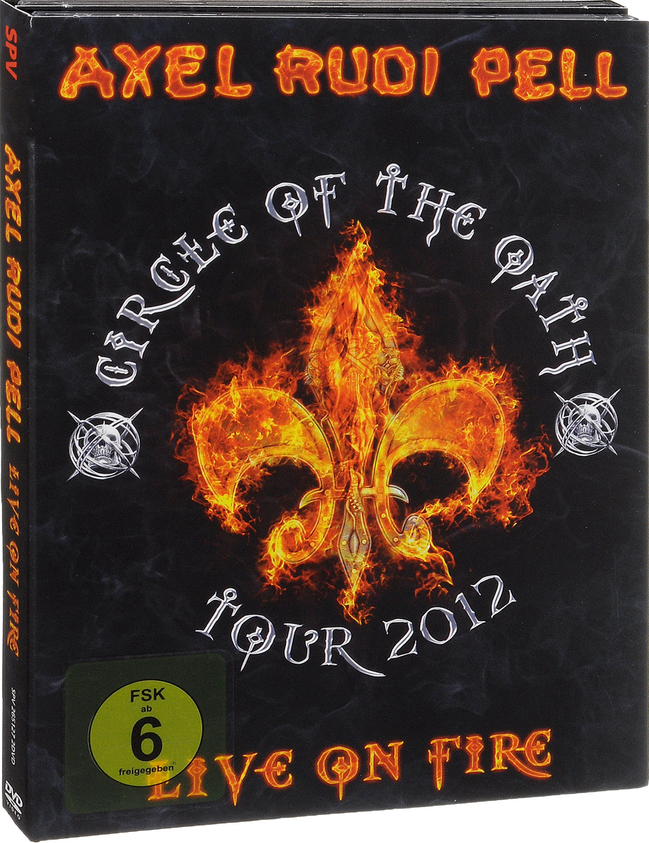 Axel Rudi Pell: Live On Fire (2 DVD) dvd диск igor moisseiev ballet live in paris 1 dvd