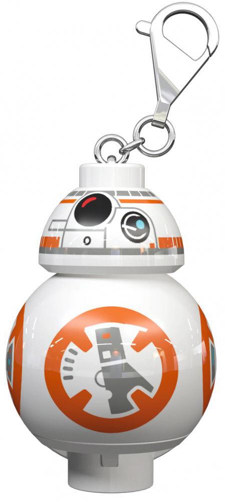 LEGO Star Wars Брелок-фонарик Дроид BB-8 lego lego брелок для ключей star wars финн