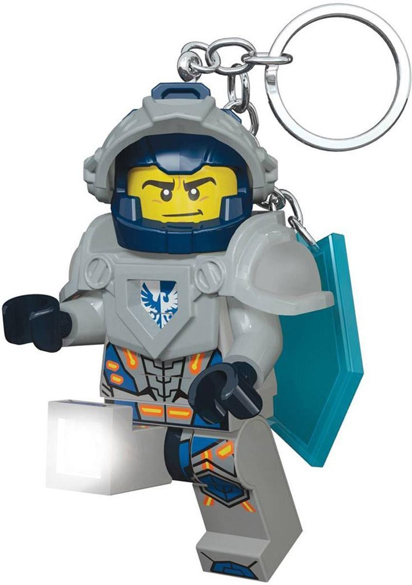 LEGO Nexo Knights Брелок-фонарик Clay часы наручные lego часы наручные аналоговые lego nexo knights с минифигурой clay на ремешке