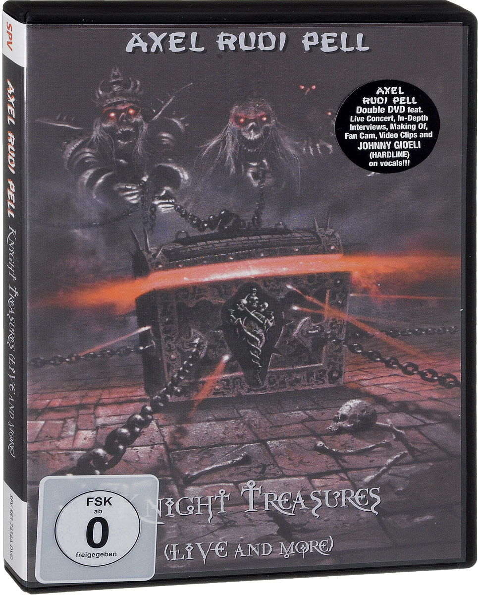 Axel Rudi Pell: Knight Treasures: Live And More (2 DVD) rudi hilmanto local ecological knowledge
