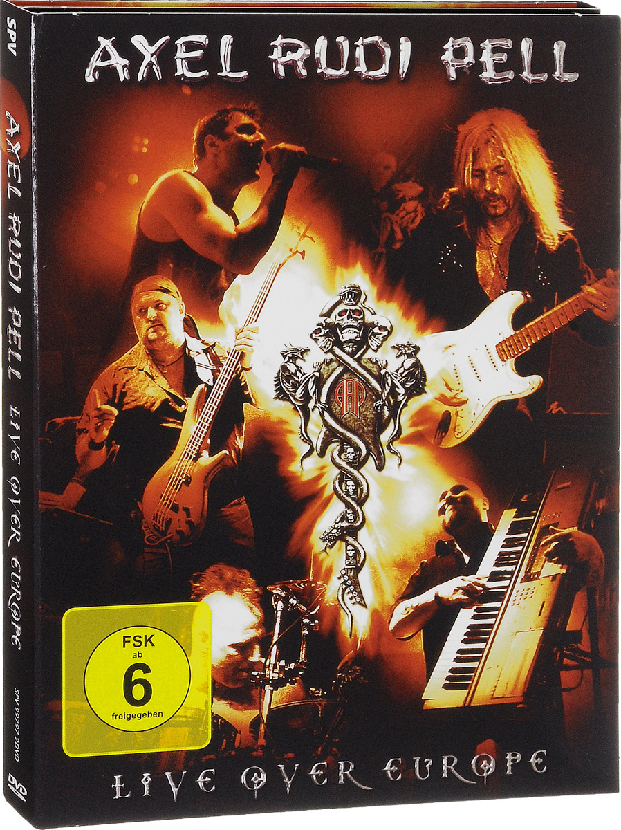 Axel Rudi Pell: Live Over Europe (2 DVD) helloween keeper on the seven keys the legacy world tour 2005 2006 2 dvd