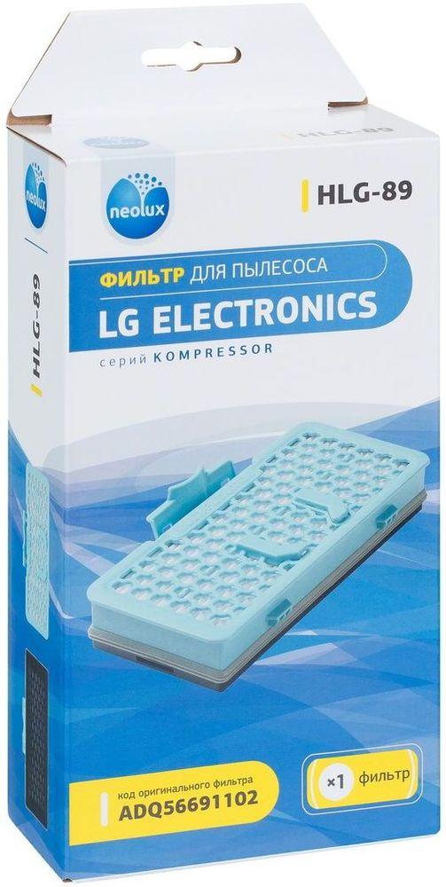 Neolux HLG-89 HEPA-фильтр для пылесосов LGHLG - 89HEPA-фильтр Neolux HLG-89 предназначен для замены оригинального фильтра ADQ56691102 ( ADQ56691101, ADQ56691103) в пылесосах LG. Обладает высочайшей степенью фильтрации, задерживает 99,5% пыли. Благодаря специальным свойствам фильтрующего материала, фильтр улавливает мельчайшие частицы, позволяя очищать воздух от пыльцы, микроорганизмов, бактерий и пылевых клещей.