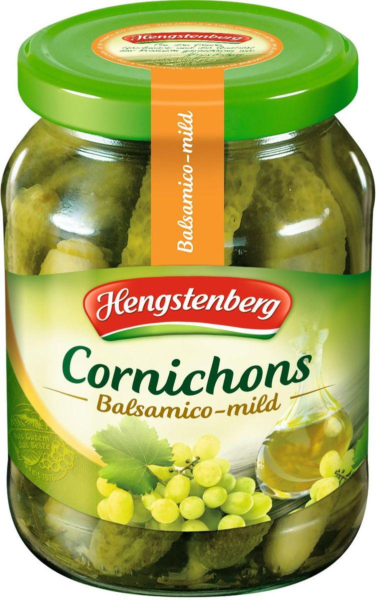 Hengstenberg Корнишоны с белым бальзамическим уксусом, 370 мл254256Хрустящие огурчики в белом бальзамическом уксусе отличаются ярким, но нежным вкусом.