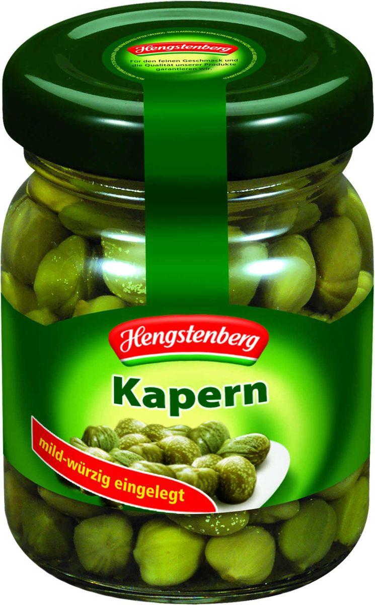 Hengstenberg Каперсы маринованные, 53 мл257557Каперсы придают пикантность и остроту соусам, их подают к рыбе или мясу, добавляют в супы, салаты и заправки.