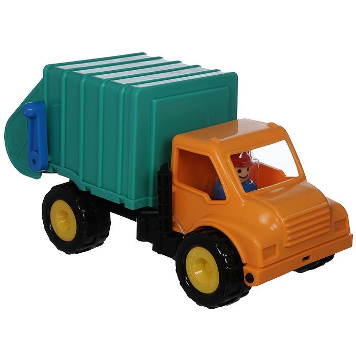 Battat Грузовик-мусоровоз грузовик самосвал battat 68023