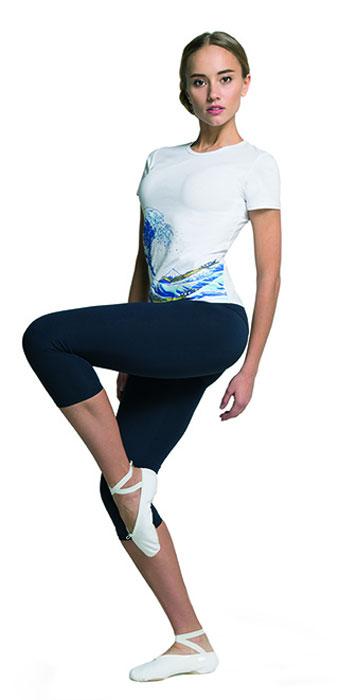 Лосины женские Grishko, цвет: темно-синий. AL-3072. Размер L (48)AL-3072Удобные лосины Grishko с высоким фиксирующим плотным поясом прекрасно подойдут для спортивных тренировок и активных прогулок. Благодаря идеальной конструкции, лосины создают стройный и спортивный силуэт. Они изготовлены из материалов высокого качества - плотного натурального хлопка с добавлением лайкры. Это легкая, дышащая ткань, которая не мнется и отличается особой прочностью и износостойкостью. Прекрасно держат форму и выдерживает многократные стирки.