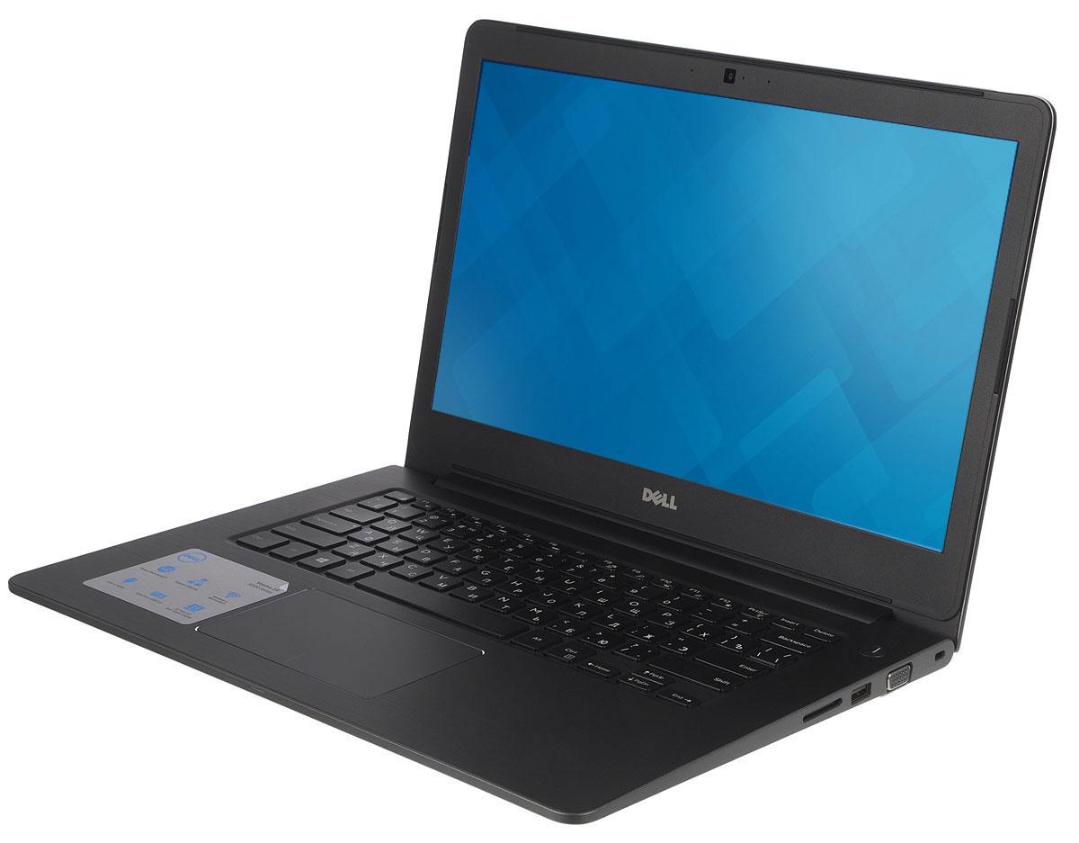 Dell Vostro 5468-8029, Grey5468-802914-дюймовый ноутбук Dell Vostro 5468 с процессором Intel Core i5 позволит вам в любое время сразу приступить к работе.Этот супертонкий ноутбук не только невероятно прочный, но и обладает стильным внешним видом. Красота Vostro 5468 - в деталях. Если вас завалило электронной почтой, высококачественная полноразмерная резиновая клавиатура и мультисенсорная панель с распознаванием жестов помогут вам легко и быстро ответить на любое письмо. Тонкий и легкий. Толщина устройства - всего 18,3 мм, а вес составляет всего лишь 1,53 кг. Компактный и изящный ноутбук Vostro 5468 можно легко положить в сумку и взять с собой куда угодно. Стереосистема формата 2.1 с поддержкой Waves MaxxAudio обеспечивает высокую четкость звука при воспроизведении музыки, просмотре видео и участии в конференциях. Vostro 5468 поддерживает аудиорешения Waves MaxxAudio, которые повышают качество звучания двух встроенных динамиков и сабвуфера.Легкость общения. Общайтесь с коллегами, родственниками и друзьями с помощью веб-камеры высокой четкости (720p) и встроенных микрофонов.Простота подключения. Подключайте устройства через разъем HDMI и три порта USB 3.0. Функция PowerShare позволяет заряжать внешние устройства через порт USB, даже когда ноутбук выключен.Быстрая передача данных. Встроенный порт Ethernet и устройство считывания карт памяти SD позволяют быстро и легко переносить рабочие файлы между различными устройствами.Точные характеристики зависят от модификации.Ноутбук сертифицирован EAC и имеет русифицированную клавиатуру и Руководство пользователя.