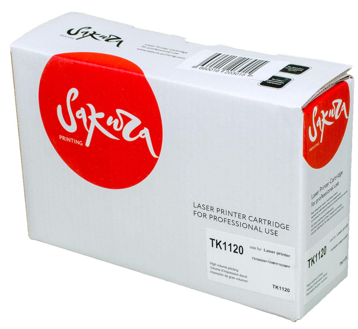 Sakura TK1120, Black тонер-картридж для Kyocera FS11060DN/FS1125MFP/FS1025MFPSATK1120Тонер-картридж Sakura TK1120 для лазерных принтеров Kyocera FS11060DN/FS1125MFP/FS1025MFP является альтернативным решением для замены оригинальных картриджей. Он печатает с тем же качеством и имеет тот же ресурс, что и оригинальный картридж. В картриджах компании Sakura используется химический синтезированный тонер, который в отличие от дешевого тонера из перемолотого полимера, не царапает, а смазывает печатающий вал, что приводит к возможности многократных перезаправок картриджей. Такой подход гарантирует долгий срок службы принтера, превосходное качество и стабильность печати.Тонер-картриджи Sakura производятся при строгом соответствии стандартам ISO 9001 и ISO 14001, что подтверждено международными сертификатами.