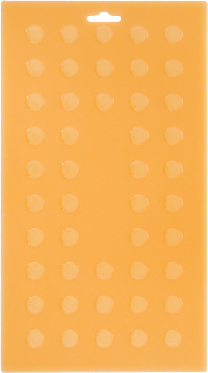 Подставка под горячее Mayer & Boch, силиконовая, цвет: светло-оранжевый, 28 х 15 см4292Подставка под горячее Mayer & Boch изготовлена из силикона и оформлена рельефом в виде кругов. Материал позволяет выдерживать высокие температуры и не скользит по поверхности стола.Каждая хозяйка знает, что подставка под горячее - это незаменимый и очень полезный аксессуар на каждойкухне. Ваш стол будет не только украшен яркой и оригинальной подставкой, но и сбережен от воздействия высоких температур.