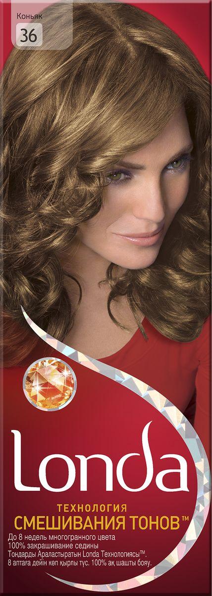 LONDA Крем-краска для волос стойкая 36 КоньякLC-81212660Ищите цвет, полный жизни, который бы сохранился надолго? Крем-краска для волос Londa идеально вам подойдет. Эксклюзивная система окрашивания дарит вам до 8 недель многогранного цвета. Это возможно благодаря технологии смешивания тонов, которая объединяет богатые оттенки, и бальзаму Стойкий цвет, который надолго сохранит ваш насыщенный цвет. 100% закрашивание седины.Товар сертифицирован.
