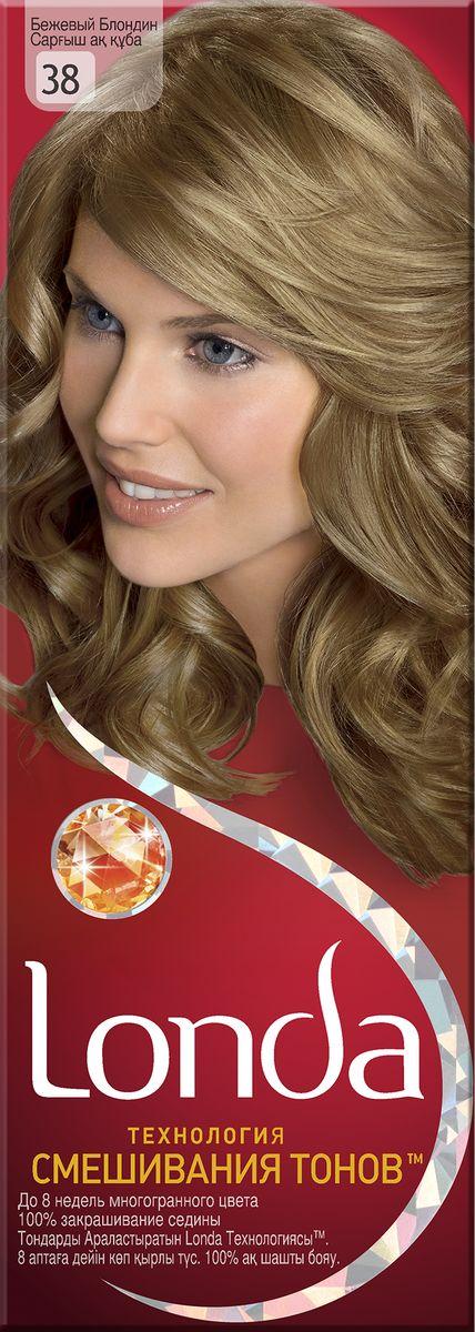 LONDA Крем-краска для волос стойкая 38 Бежевый блондинLC-81212661Ищите цвет, полный жизни, который бы сохранился надолго? Крем-краска для волос Londa идеально вам подойдет. Эксклюзивная система окрашивания дарит вам до 8 недель многогранного цвета. Это возможно благодаря технологии смешивания тонов, которая объединяет богатые оттенки, и бальзаму Стойкий цвет, который надолго сохранит ваш насыщенный цвет. 100% закрашивание седины.Товар сертифицирован.