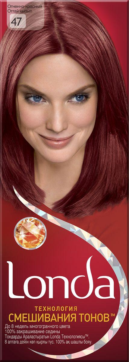 LONDA Крем-краска для волос стойкая 47 Огненно-красныйLC-81212670Ищите цвет, полный жизни, который бы сохранился надолго? Крем-краска для волос Londa идеально вам подойдет. Эксклюзивная система окрашивания дарит вам до 8 недель многогранного цвета. Это возможно благодаря технологии смешивания тонов, которая объединяет богатые оттенки, и бальзаму Стойкий цвет, который надолго сохранит ваш насыщенный цвет. 100% закрашивание седины.Товар сертифицирован.