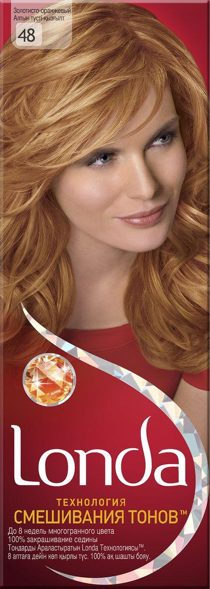 LONDA Крем-краска для волос стойкая 48 Золотисто-оранжевыйLC-81212671Ищите цвет, полный жизни, который бы сохранился надолго? Крем-краска для волос Londa идеально вам подойдет. Эксклюзивная система окрашивания дарит вам до 8 недель многогранного цвета. Это возможно благодаря технологии смешивания тонов, которая объединяет богатые оттенки, и бальзаму Стойкий цвет, который надолго сохранит ваш насыщенный цвет. 100% закрашивание седины.Товар сертифицирован.